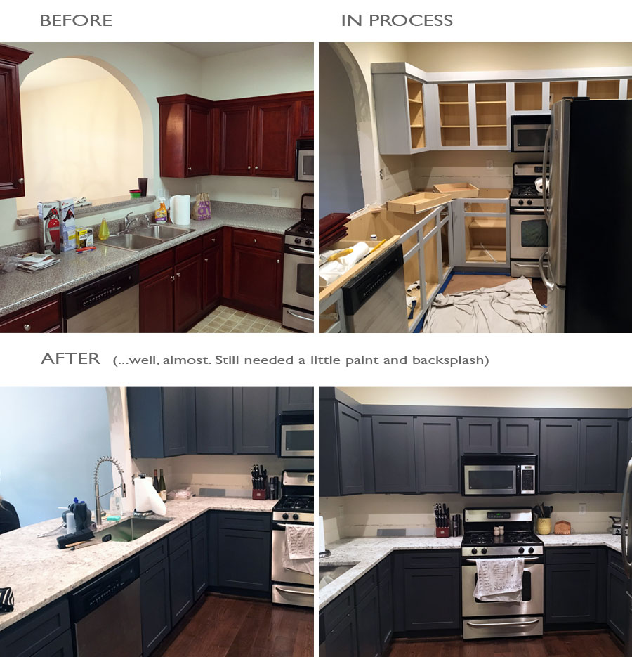 ... Complete The Transformation. Decisions Were Still Being Made On Wall  Paint And Ceramic Tile Backsplash When The U201cafteru201d Picture Was Taken Below,  ...